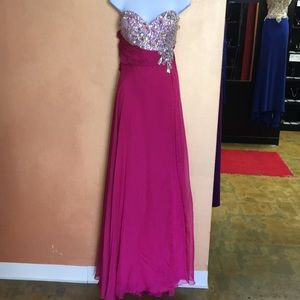 Plus Size Mac Duggal Prom Dress
